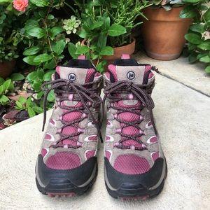 Merrell MOAB Cord Lace Hiking Boots Vibram 8.5
